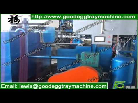 Small waste paper recycling machine