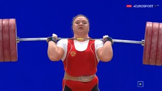 2015 World Weightlifting Championships, Women +75 kg \ Тяжелая Атлетика. Чемпионат Мира