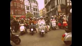 Carnaby Street Mods. Scooter Rally. 2nd May 2015. London England. 60