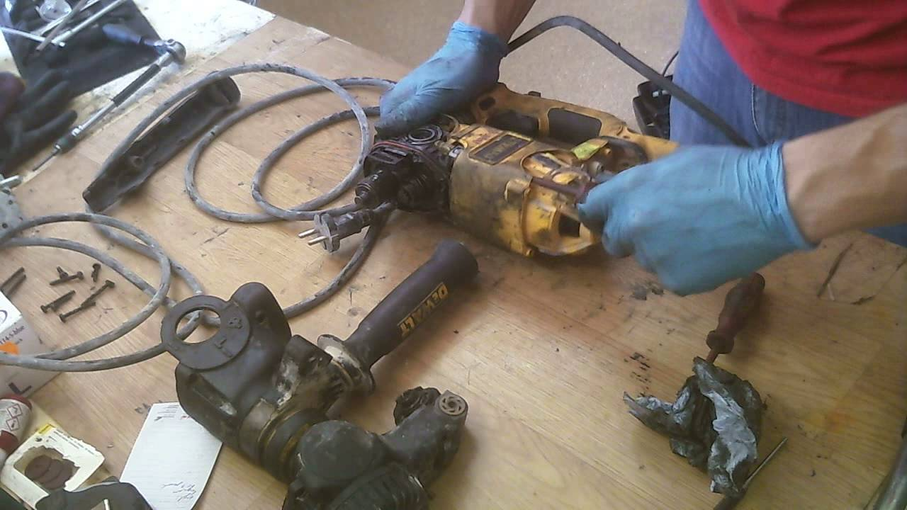 How To Repair Dewalt D25323 Hammer Drill Assemble Armature
