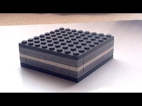 Lego Magic Sliding Puzzle Box Tutorial Youtube