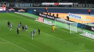 Hertha Berlin vs. Bayern Munich