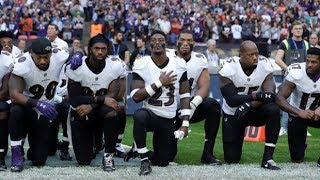 NFL players take a knee to protest Donald Trump's comments