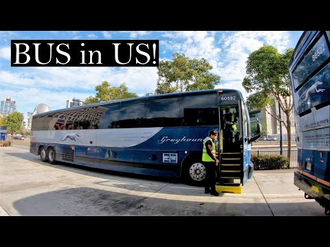 Greyhound Bus Review | San Diego to Los Angeles