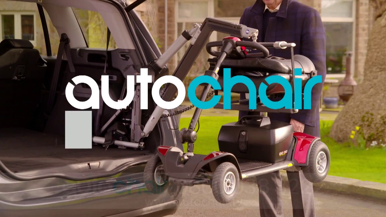 Autochair Smart Lifter - Boot Hoist for Scooters and Powerchair ...