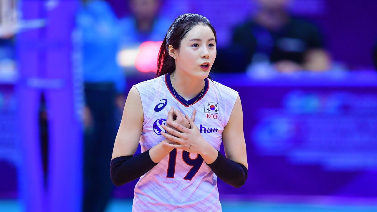Beautiful and Talented Volleyball Setter   Lee Da-yeong 이다영 (HD)