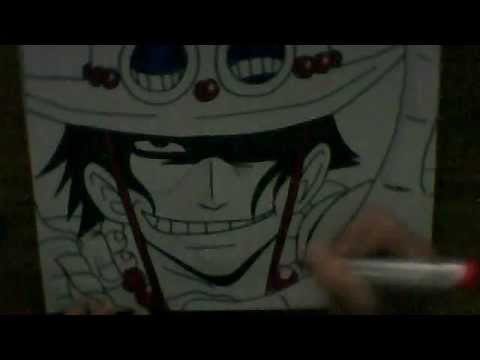 how to draw a ace