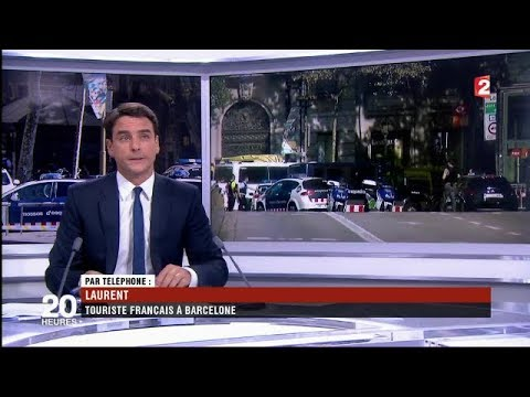 Attentat à Barcelone: Le Journal télévisé du 20h00 France 2