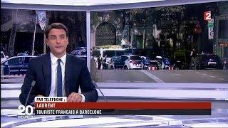 Attentat à Barcelone: Le Journal télévisé du 20h00 de France 2 du 17 août 2017