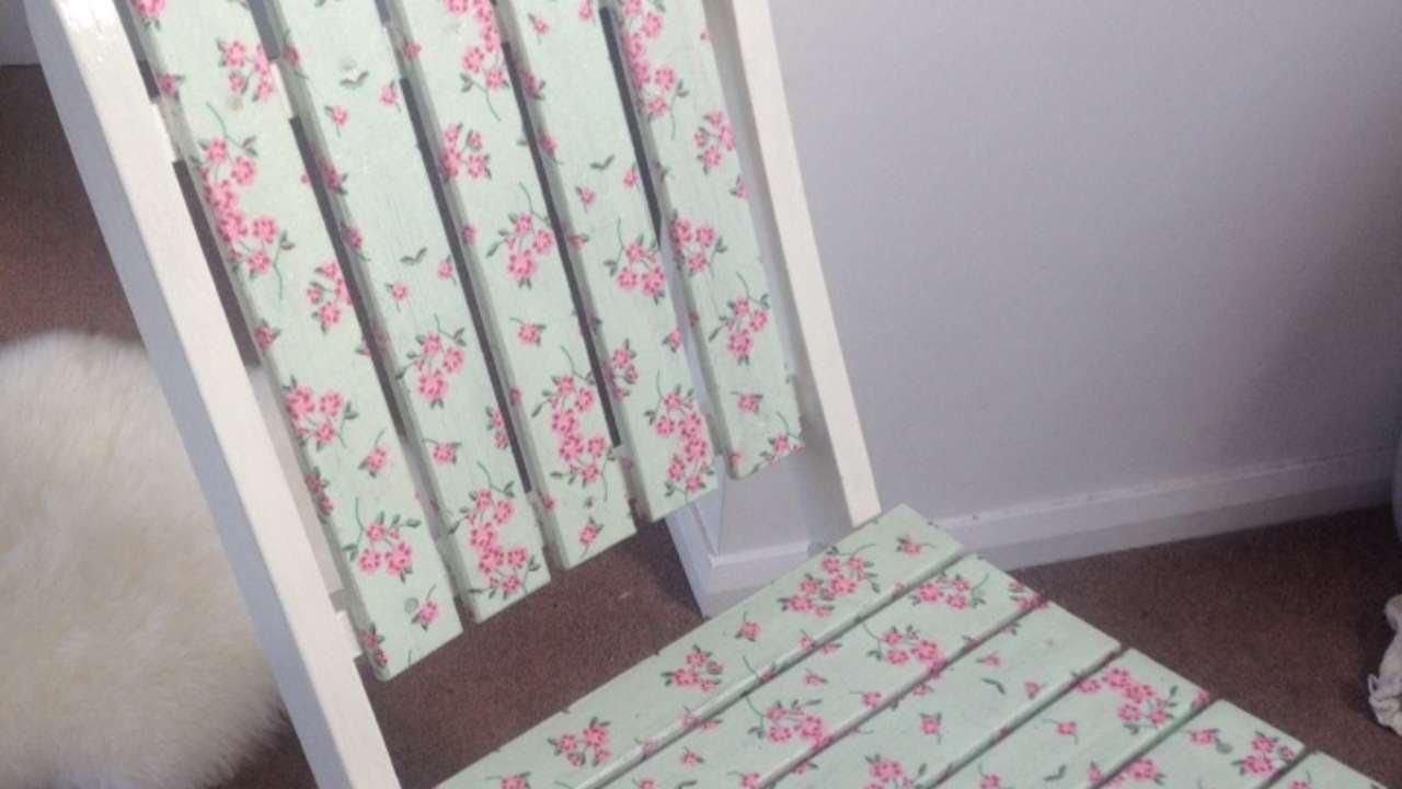 Sedie Decorate Fai Da Te : Rinnova una vecchia sedia col decoupage fai da te casa