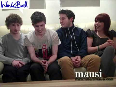 Mausi Interview at the Cluny for Winkball
