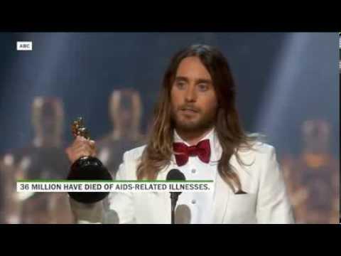 Jared Leto's Oscars speech | Truth Teller