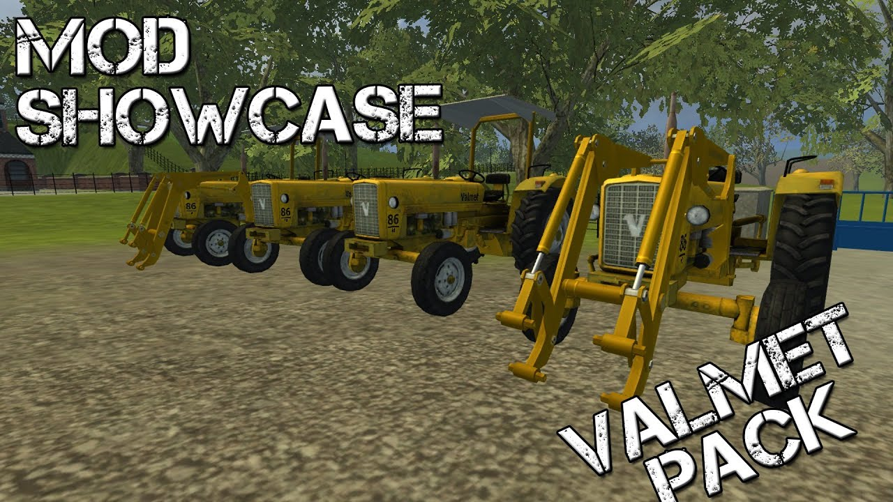 Farming Simulator 2013 Mod Showcase - Valmet Tractor Pack - YouTube