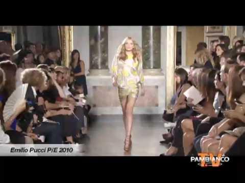 Emilio Pucci Woman S/S 2010