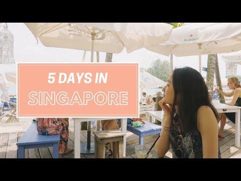 5 Days in Singapore | Travel Vlog