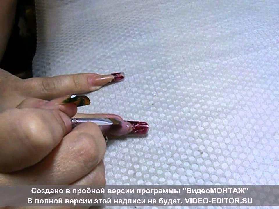 Гель-желе для наращивания ногтей видео