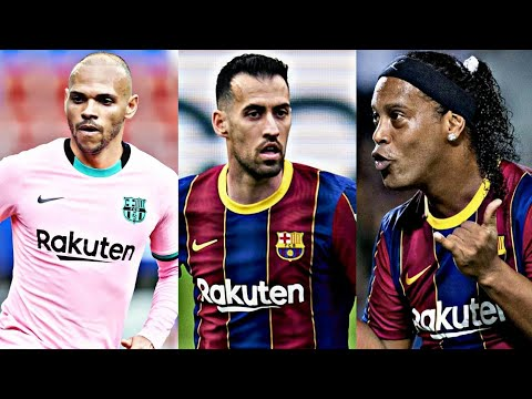 Barcelona News: Busquets Set For Wage Cut Talks  Braithwaite Wants To Stay  Ronaldinho Impresses