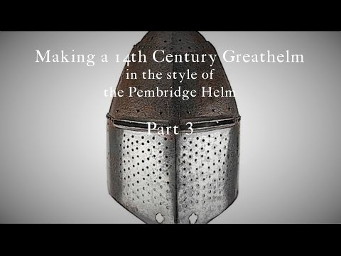 Making a 14th Century Greathelm Part 3