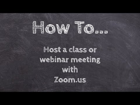 how-to-host-a-class-or-meeting-with-zoom!-www.zoom.us