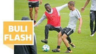 Keita mit Revanche-Foul gegen Demme - Brutalo-Attacke bei RB-Leipzig-Training