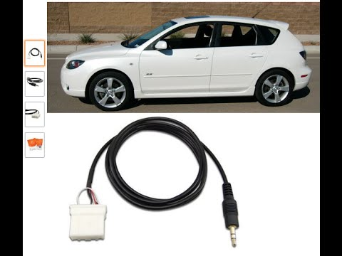 install aux cable for 2006 mazda 3 (under $10 and in less than 10