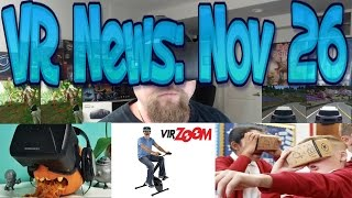 VR News Nov 26 - Update on PS4 Pro vs PS4 VR Differences - Google's Scholastic VR mission & more!