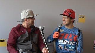 Dennis Ullrich, Nick Thury und Jesse Wentland 34. ADAC Supercross 2017 Pressekonferenz SX1