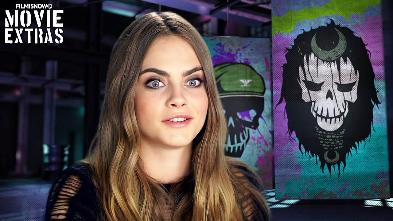 Suicide Squad On Set With Cara Delevingne Enchantress