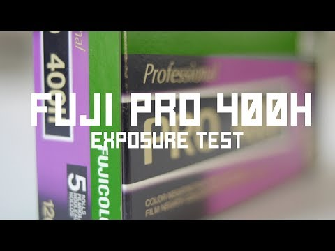 Testing The Exposure Limits Of Fuji Pro 400H - YouTube