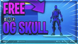How To Get The **OG** Purple Skull Trooper In Fortnite! (HxD Tutorial)