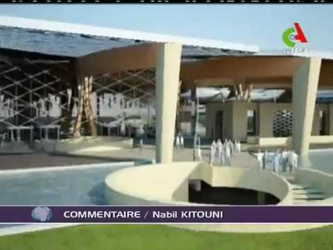 Algerie,nouveau Palais des Congres.