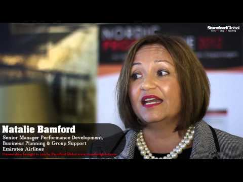 Interview with Natalie Bamford, Senior Manager Performance Development, Emirates Airlines