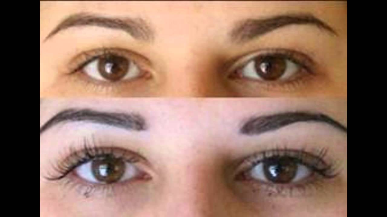 Eyebrow Tinting Before And After Youtube