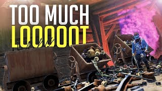 OVERFLOWING CAVE of CLAN LOOT - Rust [1/3]