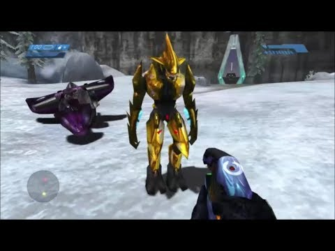 Halo 1 - Making A Gold Elite Lose His Sword
