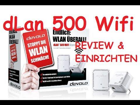 Devolo dLan 500 WiFi Starter Kit / EINRICHTEN | [Deutsch/German] 2013