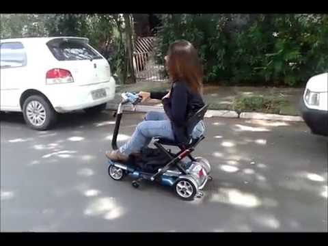 Celebrity x 4 wheel electric scooter