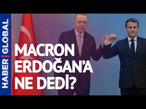 Erdoğan ve Macron Görüştü, ''Sözlerim Yanlış Anlaşıldı!''