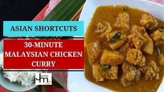 How To Cook Malaysian Chicken Curry In 30 Minutes