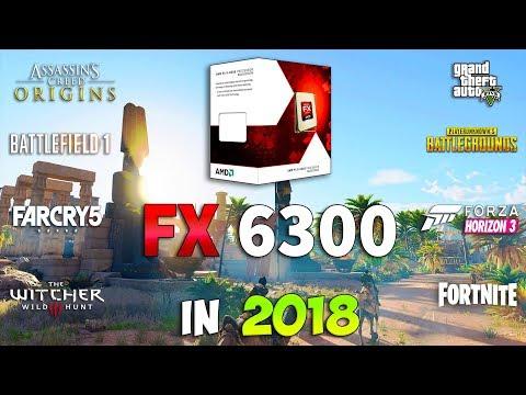 FX 6300 Test In 8 Games (GTX 1060)