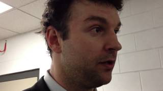 Sabres enforcer John Scott on Shawn Thornton fight