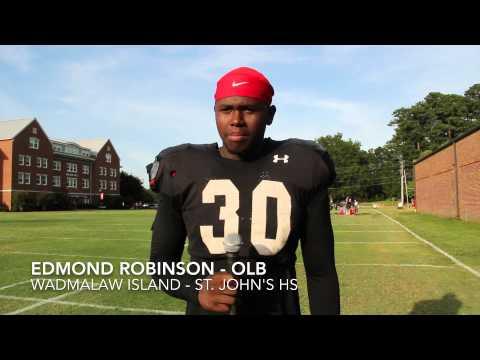 Newberry Football - Edmond Robinson - Aug. 21, 2014