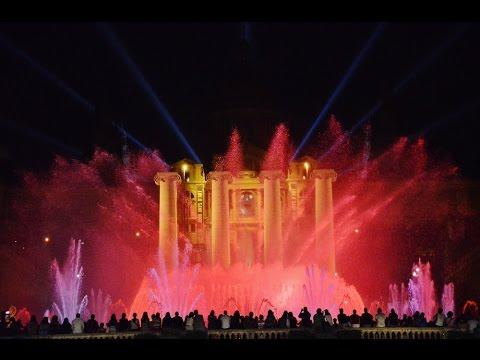 Magic Fountain of Montjuïc in Spain   Magic Fountain of Montjuïc Travel Videos Guide