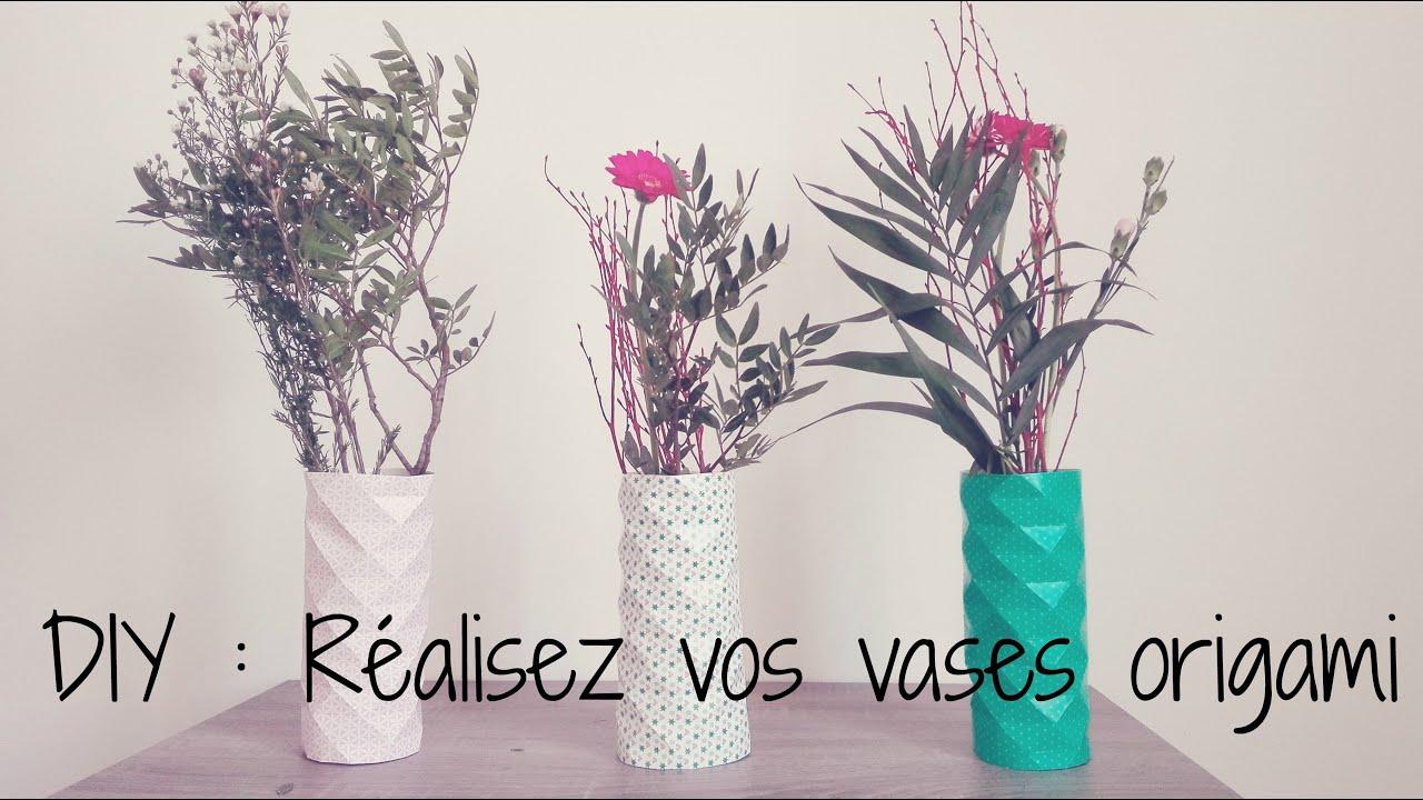 SODIAL Origami de Mode Vases en C/éRamique de Table Grand Vase D/éCoration de la Maison Vase Moderne Style Europ/éEn de Fleur Vase M/éNage D/éCoration Rose