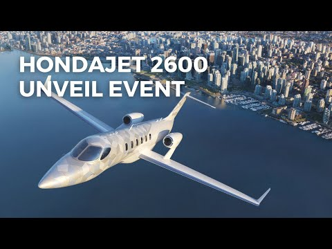 [FULL] HondaJet 2600 Concept Unveil Event | The Innovation is Not Over Yet