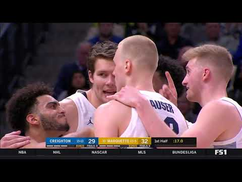 Creighton at Marquette Highlights: #BIGEASThoops