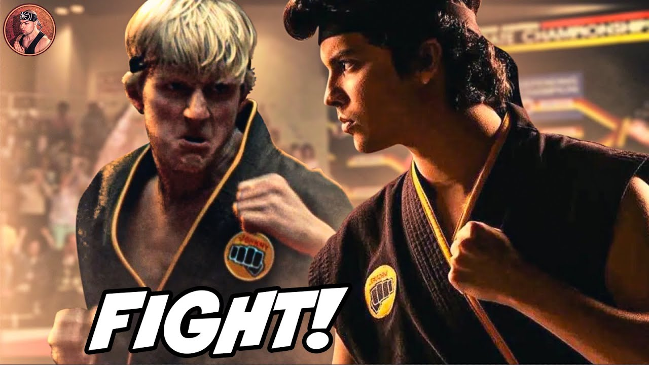 Can Johnny Lawrence (1984) BEAT Miguel in Cobra Kai?