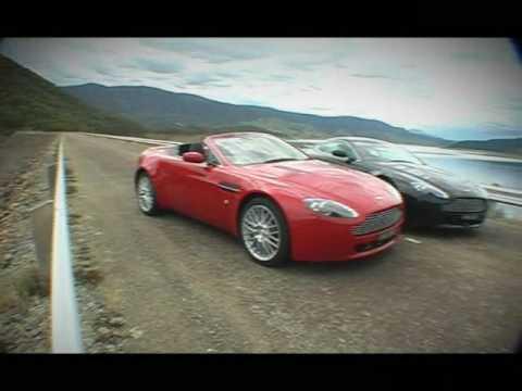2009 Aston Martin V8 Vantage Review Youtube