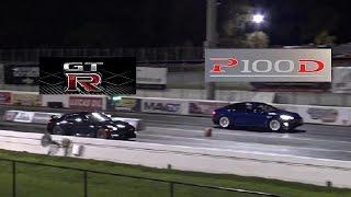 Tesla Model S P100D vs GTR