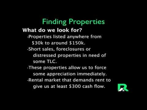 "Finding a ""Good Deal"" on a Rental Property"